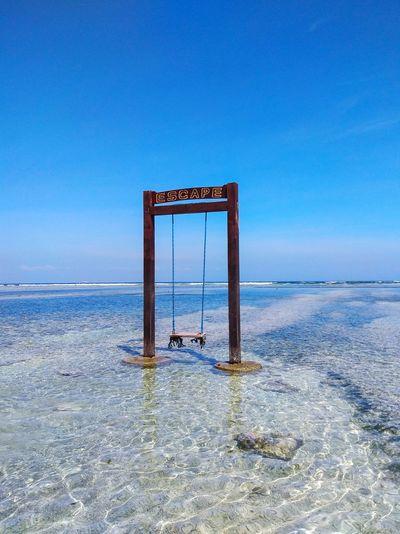 empty swinging
