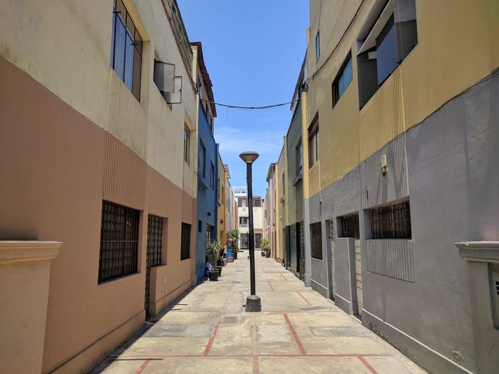 Barranco alley