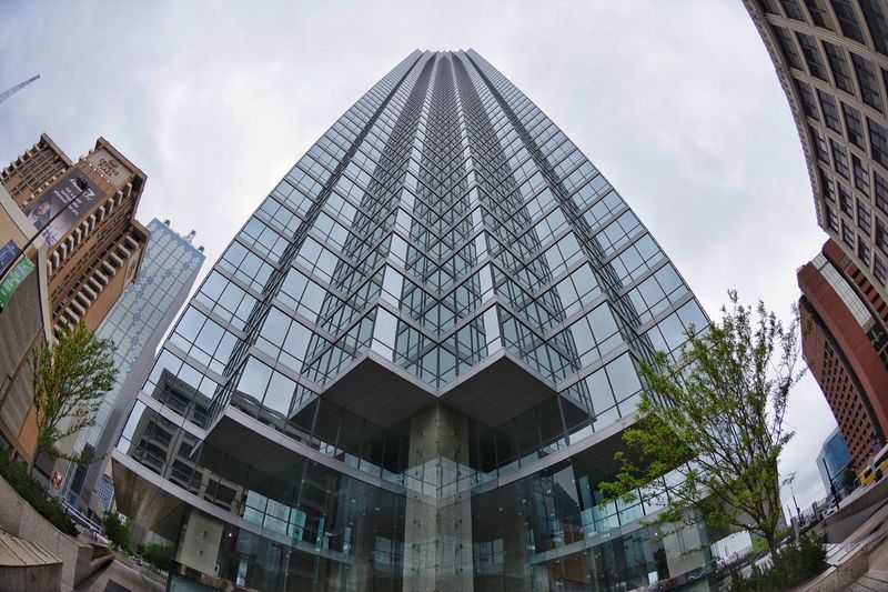 Built Structure Architecture Building Exterior Low Angle View Sky Building City Modern Day Nature Office Building Exterior Cloud - Sky No People Office Glass - Material Travel Destinations Skyscraper Reflection Outdoors