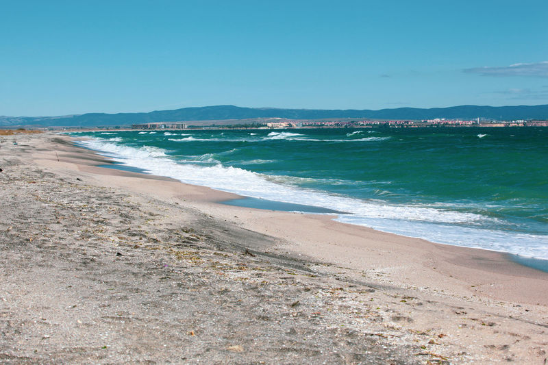 Beautiful sea view from Pomorie, Bulgaria. Holiday Nature Travel Backgrounds Beach Beauty Beauty In Nature Bulgaria Landscape Ocean Paradise Paradise Beach Photography Relaxation Sand Sea Seascape Sky Summer Sun Tourism Travel Destinations Tropical Tropical Climate Water