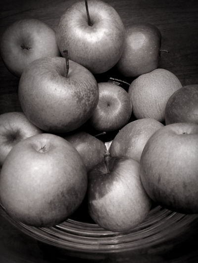 Close-Up Of Apples On Container
