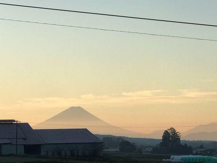 Mt.Fuji in the