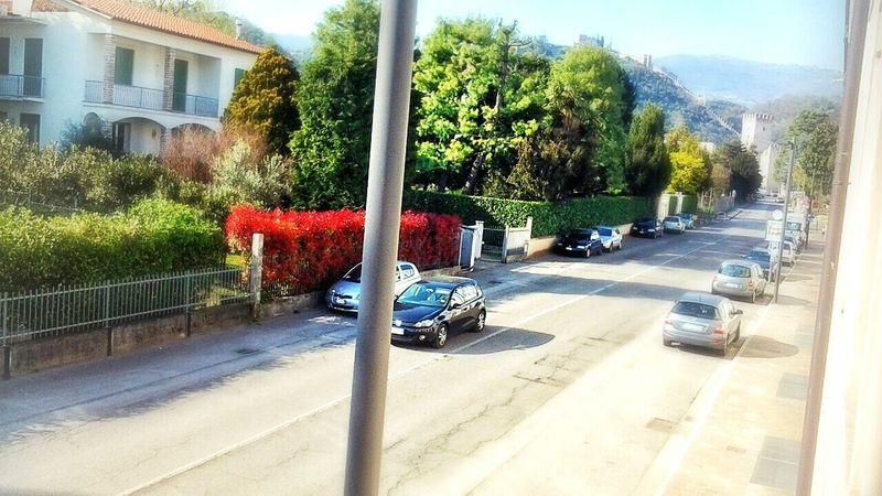 sun!!!!!I love Marostica Hello World