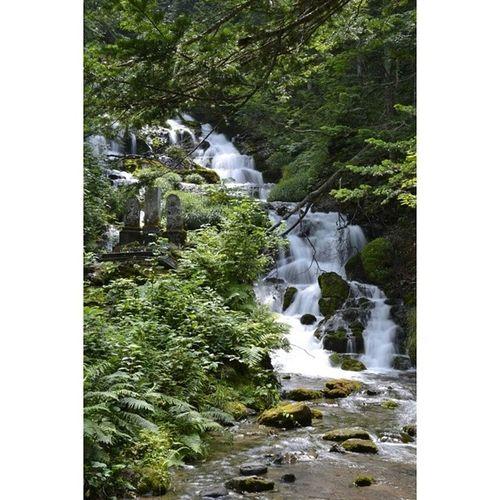 滝 風景 北海道