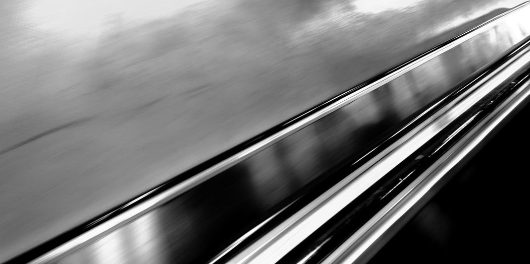 Absence Abstract Blackandwhite Indoors  Low Angle View Notes From The Underground Shadow Speed Staircase Stairs Steps And Staircases Subway