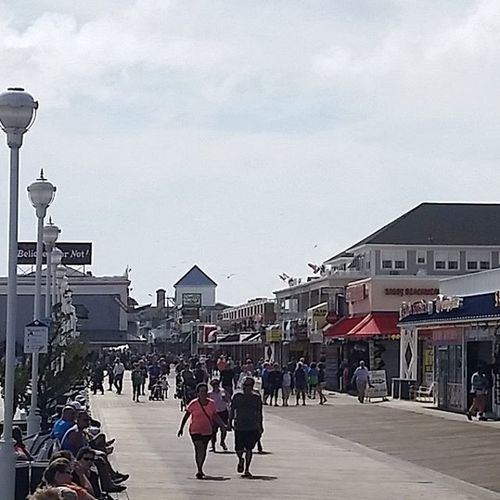 Windy day on the Boards... Oceancitycool OceanCity Maryland Ocmd boardwalk