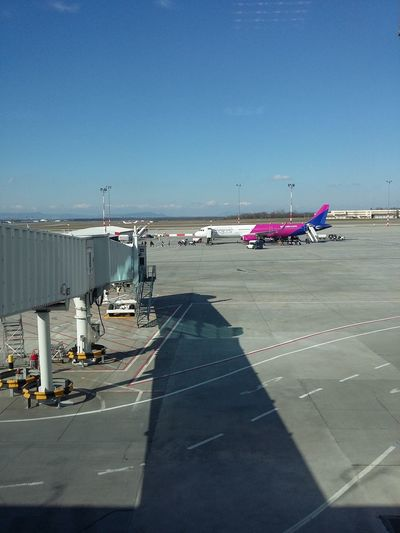 Airport Air Plane Budapestairport Today :)