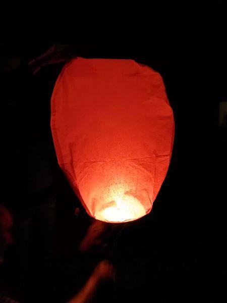 Beautiful Colours.... Light Baloon Warm Night Photography
