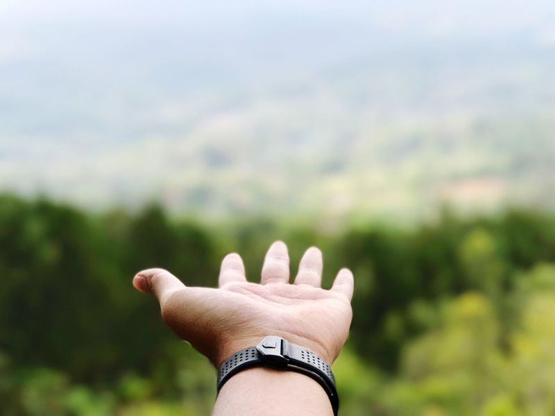 | H O L D - M Y - H A N D | Human Body Part Human Hand Body Part One Person Hand Finger Human Finger Focus On Foreground Personal Perspective Gesturing Real People Outdoors Unrecognizable Person Day Close-up Lifestyles Ring Nature Jewelry