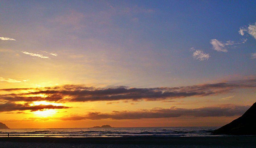 Beachphotography Landscape_Collection EyeEm Best Shots - Sunsets + Sunrise Sunset #sun #clouds #skylovers #sky #nature #beautifulinnature #naturalbeauty #photography #landscape