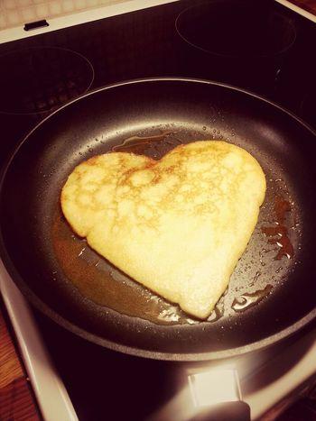 Pancakehearts for breakfast tomorrow... Pancakes Bday Girl Family❤