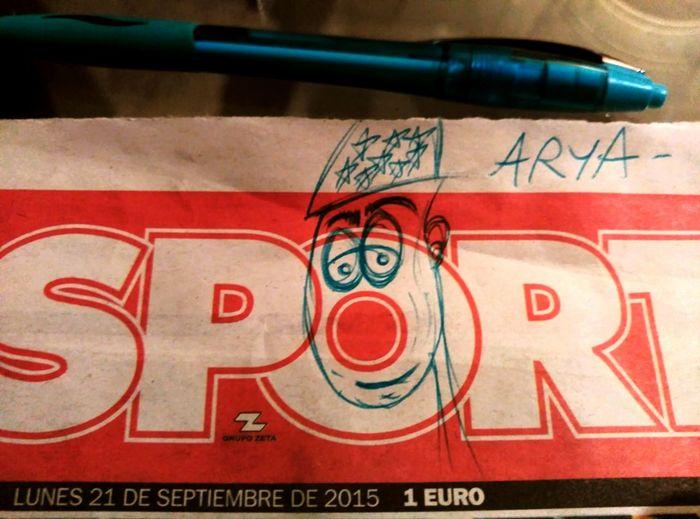 Arya Dibuix Dibujo Pallaso Clown Clowncostume Drawing That's Me! My Birthday Birthday Drawings