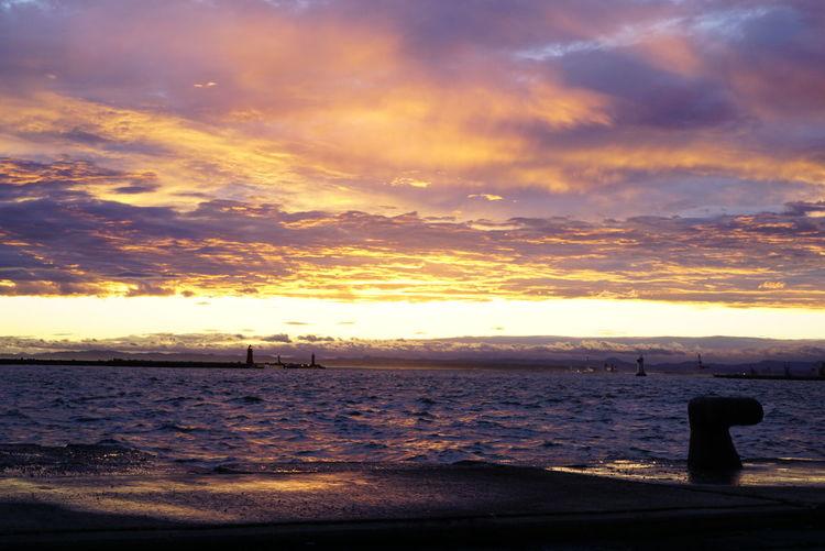 夕焼け雲 Sunset