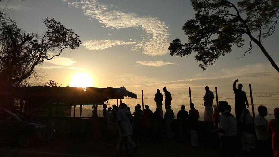 Sunset Sky Vibe Munaar Kerala