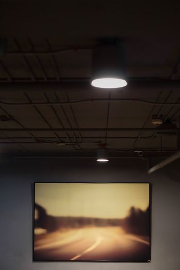 Illuminated Indoors  Lighting Equipment Ceiling Technology Real People Projection Equipment Day Wall Wallpaper Wall Art Wall Hanging