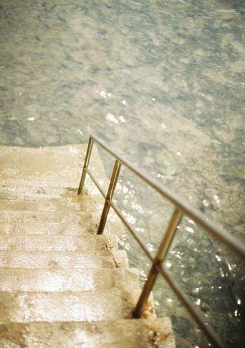 35mm Film Film EyeEm Best Shots Coast Clear Stairs Sunny Day Zushi