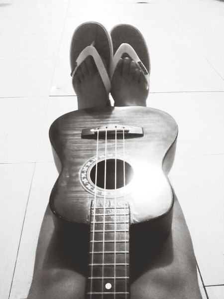 Just had another practice with my baby. :) We sound good together, my love. ? Ukulele Music Blackandwhite Soundcloud