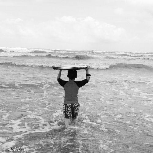 Beach Blackandwhite Black And White Eye4photography