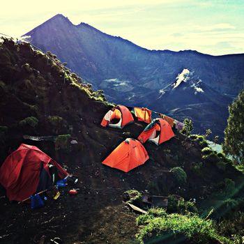 Camping Trekking Mountains