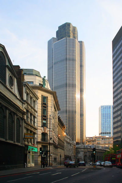 Tower 40 on Old Broad Street, London. London National Westminster Tower Tower 42 Tower 42, Old Broad Street, London Architecture Building Exterior Built Structure City Cityscape Day Modern No People Outdoors Sky Skyscraper first eyeem photo