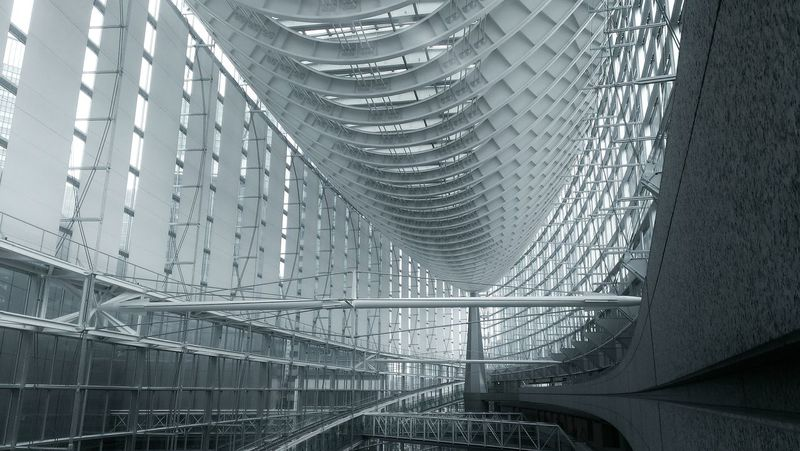 Tokyo International Forum Aroundtheworldbylufthansa EyeEm Best Shots - Architecture