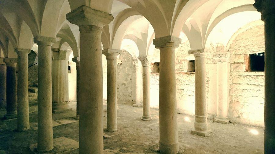 Architectural Column Architecture Arch Colonnade Travel Destinations History Roman Brescia Ancient Civilization Art Architecture Old Ruin Museum