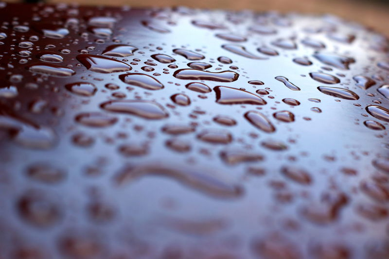 Selective Focus Close-up Indoors  No People Wet Backgrounds Full Frame Water Pattern Drop High Angle View Metal Surface Extreme Close-up Text Jigsaw Piece Day White Color RainDrop Drops Of Water Sashalmi EyeEm Best Shots EyeEm Nature Lover EyeEm Gallery