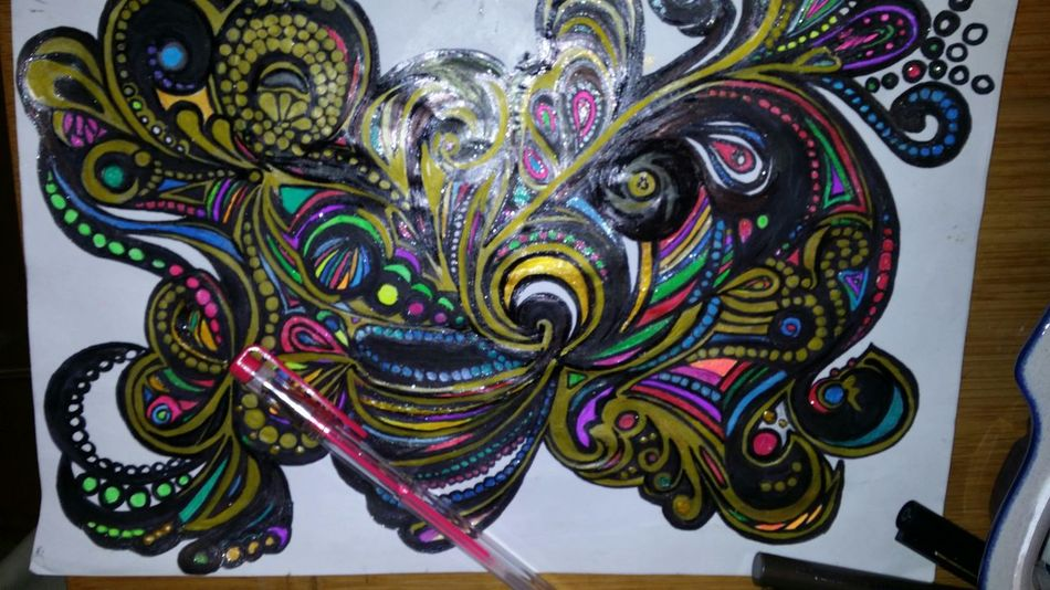 Playing With Colours Drawing Hello World creative Painting