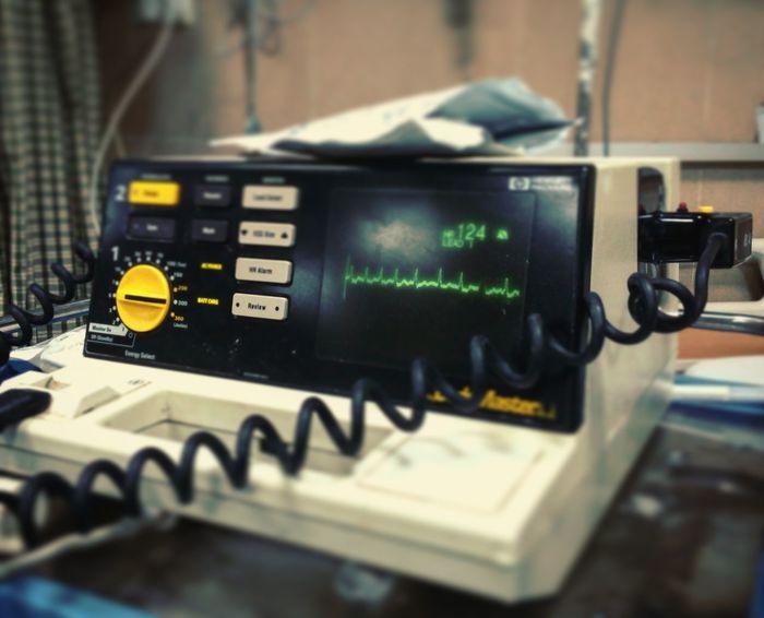 Technology No People Defibrillator Heart Arrest Cardiac Arrest DC Arrhythmia Shock