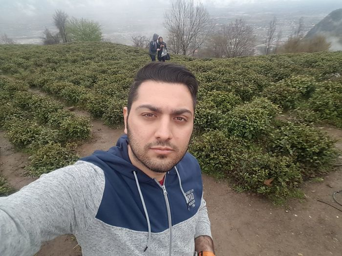 Iranian Iran Only Men One Man Only Adult Face Persian Boy Iranian_photography Iranian Boy Persian Nature Green Sky Clouds Selfıe