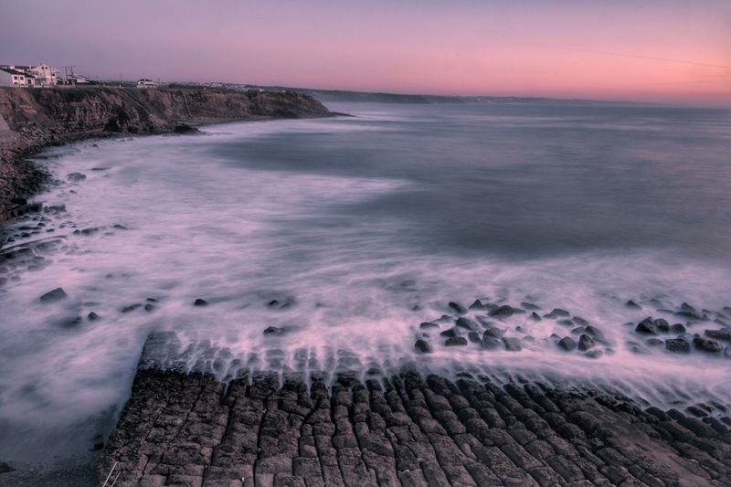 Sea Water Beach Nature Horizon Over Water Outdoors No People Scenics Beauty In Nature Wave Sky Day Tranquility Beachlovers Beachphotography Travel Destinations Beauty In Nature Travel Sunset_collection Nature_collection Nature Popular Landscape Long Exposure Longexposurephotography