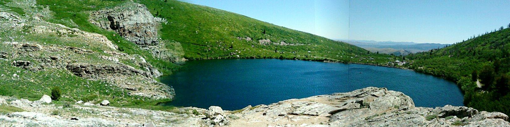 Angel lake in Nevada Lake Lake Life Angel Lake