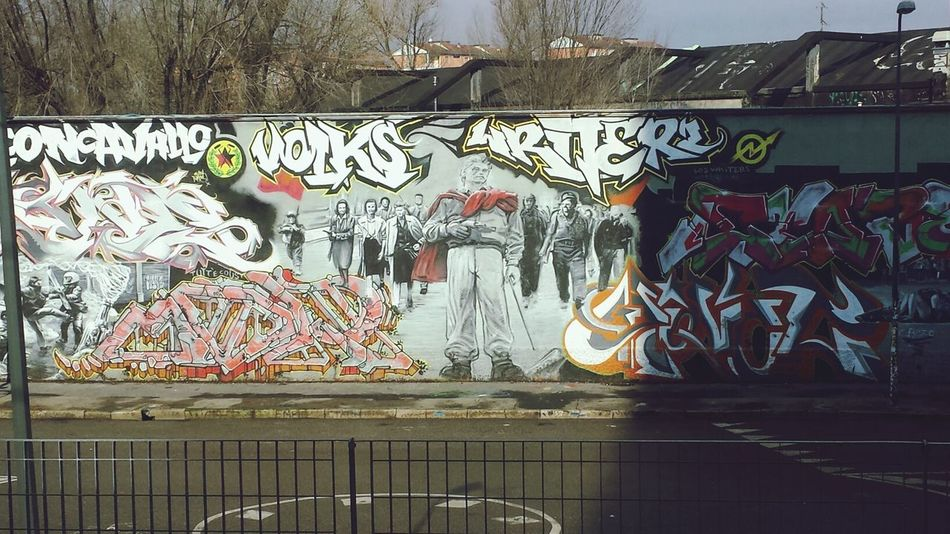 Street Art Milano Leoncavallo