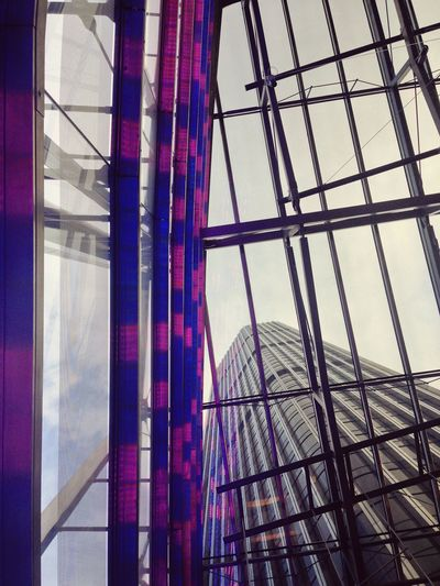 Looking Up at Tower 42 in London City . Unseen London Architecture