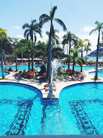 Blue power. Hawaii Kauai Marriotthotel Travel Pool Adventure Loveyourlife Wonderland Beautifulplaces Heaven