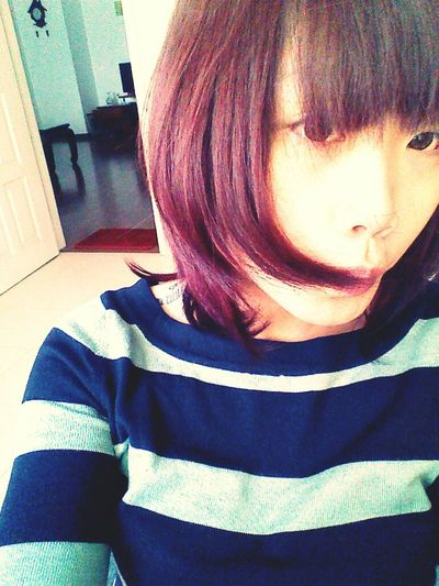 I love red and pink and blue and purple and yellow and brown... Had a crush today. A little bit blue :(