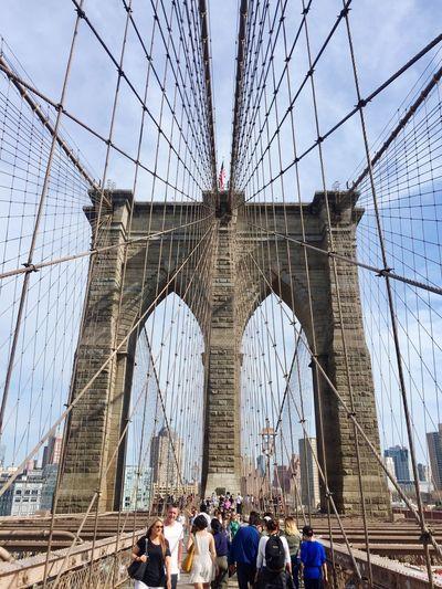 Brooklyn Bridge  Manhattan New York Afternoonwalk New York City 😚 ABSOLUTELY AMAZING