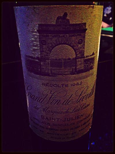 Grand Vin de Leoville du Marquis de Las Cases 1982