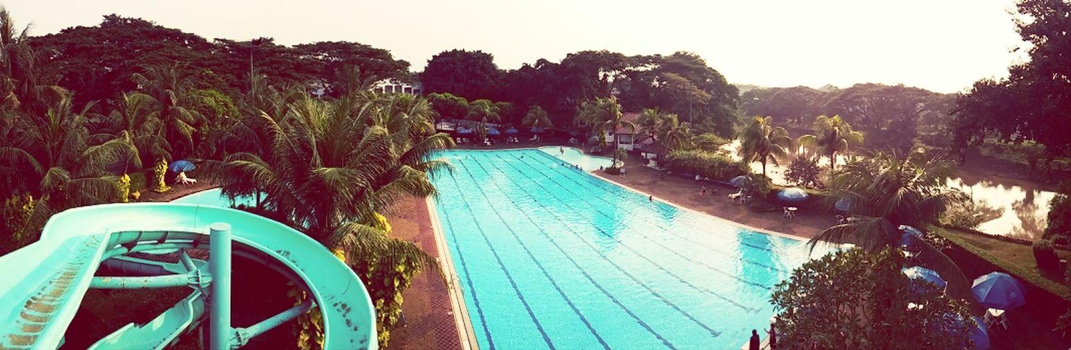 Enjoying Life Near And Far Swimming Pool