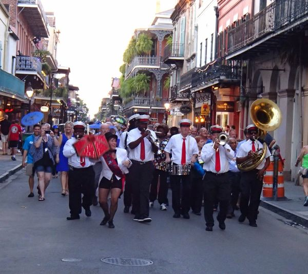 People And Places. people and places Battle of the Cities Street New Orleans Jazz Parade Burbon Street Lifestyles Celebration Famous Place