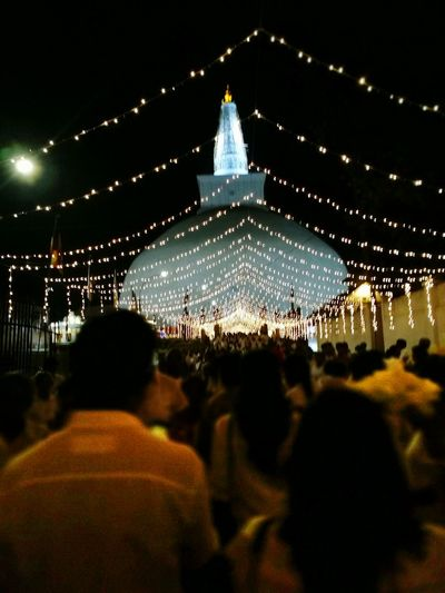 Illuminated Spirituality The Most Beautiful Place In The World Ruwanwelisaya Night
