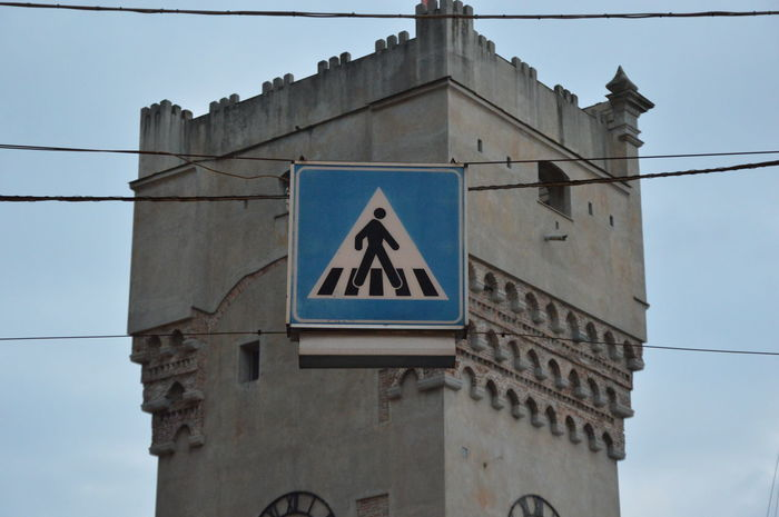 Zoom on a road sign from Italy Zoom On A Road Sign From Italy Traffic Sign Road Sign Sign Traffic Road Street Traffic Regulations Regulations Rules No People Outdoors