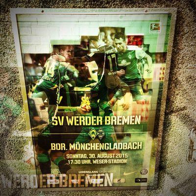 Bundesliga Fussball Soccer Football Werder SV Werder Bremen Hipstamatic