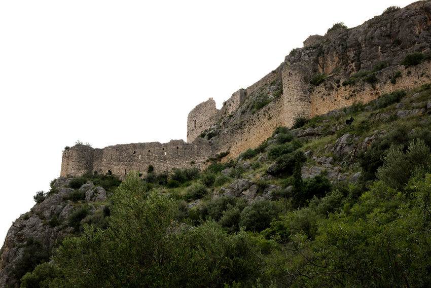 Kozan Kalesi Historical Building Historical Sights Kozan Kozan Castle Mountain View Travel Photography Turkey Architecture Building Exterior Built Structure Cliff Fortified Wall Fortress Fortress Wall History Landscape Nature Outdoors Rock - Object Rock Formation Sky Stone Stronghold Travel Destinations Tree