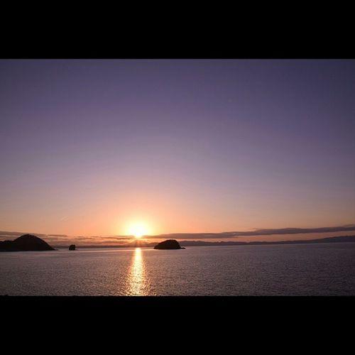 浅虫 風景 むつ湾 夕暮れ
