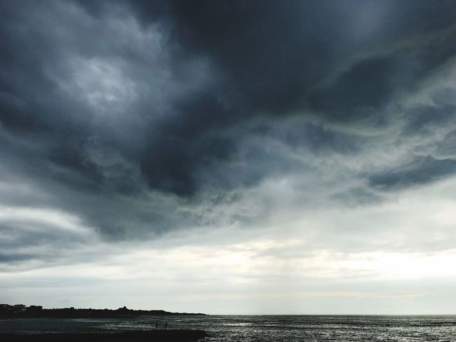 Cloud - Sky Sky Beauty In Nature Scenics - Nature Nature No People Summer Road Tripping Tranquility Tranquil Scene Water Storm Sea Outdoors Dramatic Sky Horizon Environment Overcast Architecture Storm Cloud Ominous