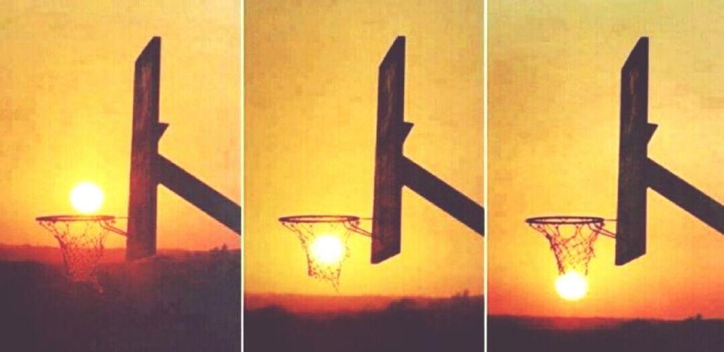 Basketball Sun Basketball ❤