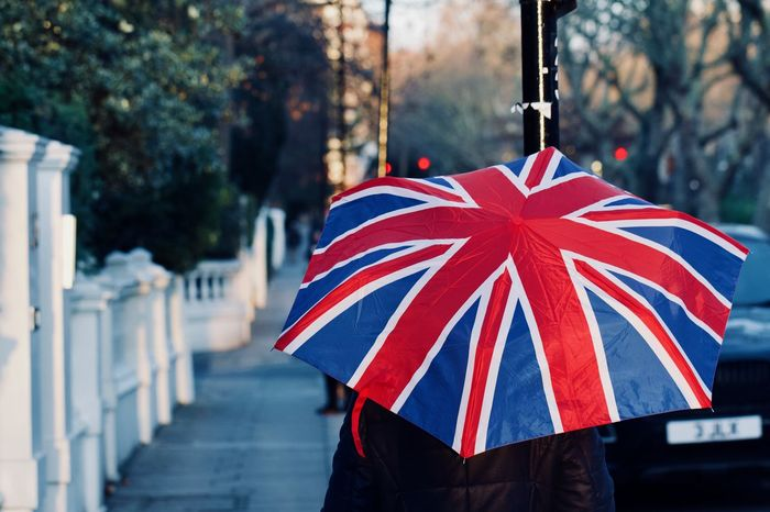 Union Jack flag Umbrella British Culture British Weather LONDON❤ London London Lifestyle Rain Rainy Days Union Jack Umbrella United Kingdom Weather Winter Brexit Climate Multi Colored Outdoors Pavement People And Places Street Photography Streetphotography Uk Umbrella Umbrellas Union Jack Flag Focus On The Story The Street Photographer - 2018 EyeEm Awards My Best Travel Photo