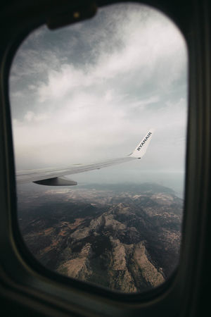 mallorca The Great Outdoors - 2018 EyeEm Awards City Cityscape Airplane Water Flying Air Vehicle Sea Aerial View Window Business Finance And Industry Side-view Mirror Skyscraper Skyline Urban Skyline EyeEmNewHere