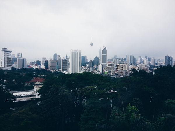 Kuala Lumpur view from Planetarium Negara:D